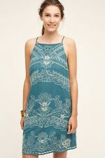 43a74aac3bd9 Anthropologie Broderie Lace Swing Dress by Floreat Size 4 Embroidered $188