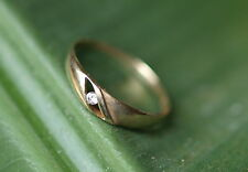 Ring antik Gold 333 Brillant