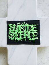 Suicide Silence Deathcore Nuclear Punk Rock Band Grunge Iron On Patches Patch
