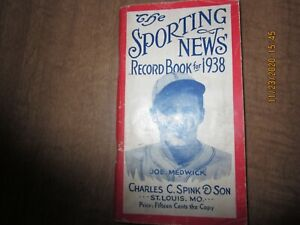 1938 The Sporting News Record Book