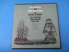Sea Chanteys and Forecastle Songs At Mystic Seaport Album LP Vinyl FTS 37300