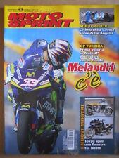 MOTOSPRINT n°43 2005  Moto Gp  Turchia Marco Melandri - Salone Tokyo  [P67]