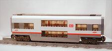 ICE 2 Klasse Doppelstock Waggon Wagen aus LEGO® MOC Eisenbahn 60051 Personenw.