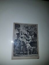 Rare original Karel Dujardin 1626-78 17thc Etching pencil signed framed & Glazed