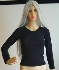 Chanel Black Top Shirt Made In Italy Size 38