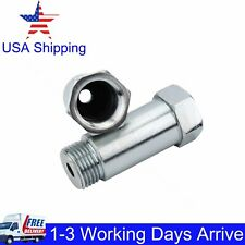 2X * NEW *Straight 45mm O2 Oxygen Sensor Extension Spacer extender M18 X 1.5 CEL