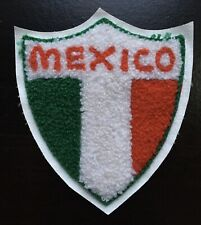 Vintage Mexico Jacket Patch