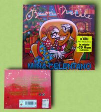 """MINA ADRIANO CELENTANO """"BUON NATALE"""" 2 CD LIMITED ED"""