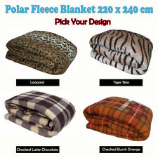 Unbranded Checked Blankets