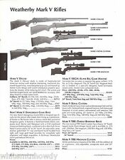 2003 WEATHERBY Mark V Deluxe Dangerous Game SBGM Royal Custom TRR Rifle AD