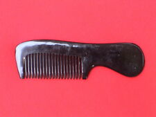"""5.73"""" THICK/STURDY MEDIUM TOOTHED OX HORN COMB - FOR ALL HAIR! COMBINE SHIPPING"""