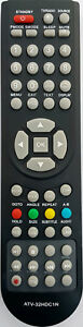 Replacement GVA remote control for LED LCD TV - ALL MODELS LISTED