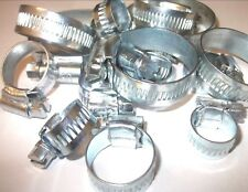 35Piece Assorted Hose Clip Set. Fuel. Water. Zinc Plated. Brand New. Top quality
