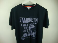 Lambretta Design Navy T Shirt Never Used Size Medium Mod Scooter