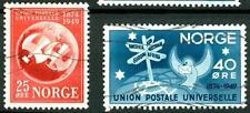 NORWAY - NORVEGIA - 1949 - 75° anniversario dell'U.P.U.