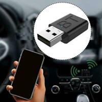 Bluetooth 5.0 Audio Sender Empfänger USB Adapter für TV PC B2P3 Z6G1