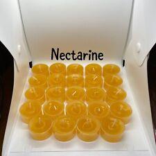 2 Dz Nectarine Partylite/Cccc Seconds Tealights