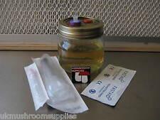 Magic Granja Ostra Hongo cultivo líquido Kit para cultivar-estéril, listo para crecer