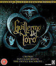 Guillermo Del Toro Collection (Blu-ray, 2010, 3-Disc Set, Box Set) free postage