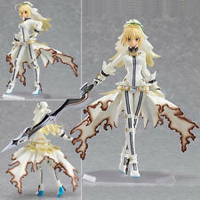 New figma Saber Lily Bride Fate/Extra CCC Figure Figurine 14cm No Box