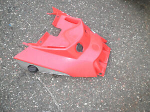 2003 Bombardier 400 Outlander front red cowling gas petcock plastic