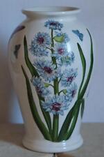 "PORTMEIRION BOTANIC GARDEN Canton Vase 6.50"" Tall  EASTERN HYACINTH Vintage Mark"