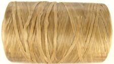 10 Metres Natural Colour Artificial/Imitation Waxed Craft Sinew