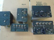 LOT OF ANDREA RADIO AIC-10 INTERCOM COMPONENTS FOR WAR BIRD, T-33, F-86, C130 ET