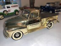 LIBERTY CLASSICS CRAFTSMAN GOLD EDITION DIE CAST BANK 1949 CHEVY TRUCK SOLID!
