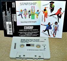 STARSHIP     - KNEE DEEP IN THE HOOPLA -                           Cassette Tape