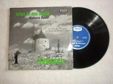 """LP 25CM FERNANDEL """"Lettres de mon moulin"""" DECCA FM 133.022 µ"""