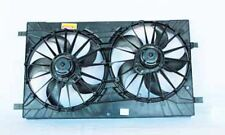 Dual Radiator and Condenser Fan Assembly TYC 621570