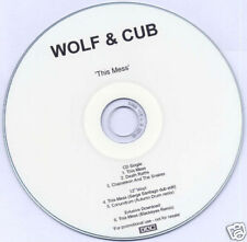 WOLF & CUB This Mess 2007 UK 6 track test press CD 4AD