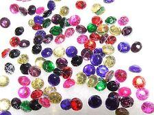 8 Gross=1152 Mixed Colours Joblot Gems 1.8 mm ss6 Hotfix Rhinestone Iron On Bead