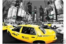 RIESEN Poster NEW YORK - Yellow Cabs - Rush Hour Times NEU XL860