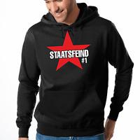 Staatsfeind #1 No1 Nr1 Public Enemy Fun Spaß Kapuzenpullover Hoodie Sweatshirt
