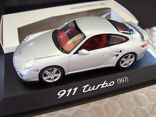 PORSCHE MINICHAMPS OFFICIAL DEALER VTG 911 997 TURBO 1:43rd SCALE MODEL 2006 NEW