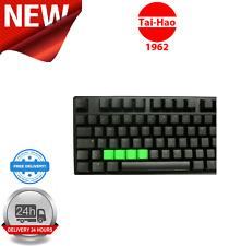 Tai-Hao TPR Rubber Blank 4 Keys Neon Green KEY0091