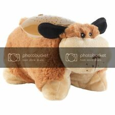 Kuscheltier-Leuchte Hund Lampe Nachtlicht Sternenhimmel Schlaflicht Kind
