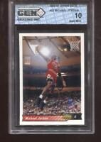 Michael Jordan 1992-93 Upper Deck #23 HOF Chicago Bulls GEM MINT 10