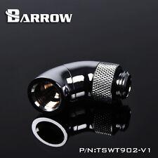 """Barrow G1/4"""" Shiny Sliver 90 Degree Double Rotary Fitting - 008"""