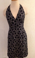 Beautiful Sexy LAUNDRY by Shelli Segal SILK Halter Cocktail Dress Ms Size 6