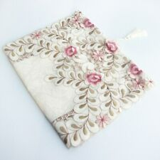 New Embroidered Table Runner Polyester Floral Hollow Lace Table Party Decoration