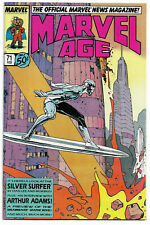 MARVEL AGE#71 VF/NM 1989  'SILVER SURFER BY MOEBIUS' MARVEL COMICS