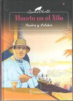 AGATHA CHRISTIE. MUERTE EN EL NILO. PATITO EDITORIAL. ALBUM DE 50 PGNS.TAPA DURA