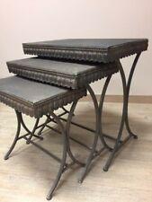 Set de 3 Tables Gigogne en métal