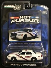 Greenlight Hot Pursuit 2008 Ford Crown Victoria Montgomery Texas DELA8020