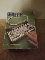 1984 Macintosh 128K M0001 BYTE Magazine Mac LISA 2 Intro. Issue STEVE JOBS Rare!