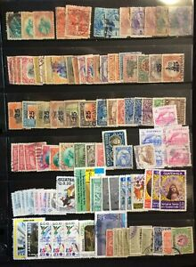 GUATEMALA  LOT MNH AND  USED  STAMPS