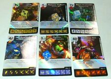 Marvel Dice Masters Guardians of the Galaxy Lot of 41 Cards and 41 Dice